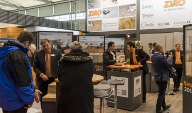 Messestand ZIRO Domotex 2018