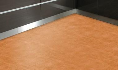 Linoleum-Fertigfußböden